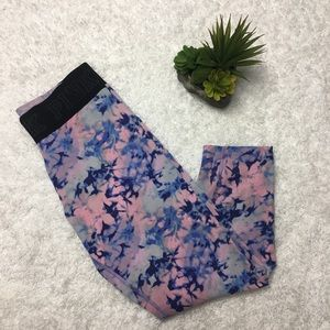 PINK Victoria's Secret Tie Dye Ultimate Leggings
